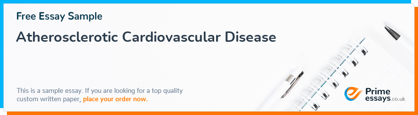 Atherosclerotic Cardiovascular Disease