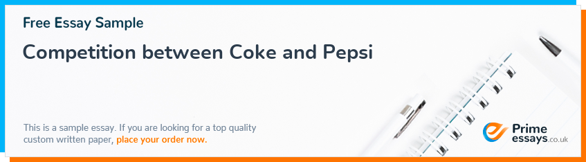 Competition between Coke and Pepsi