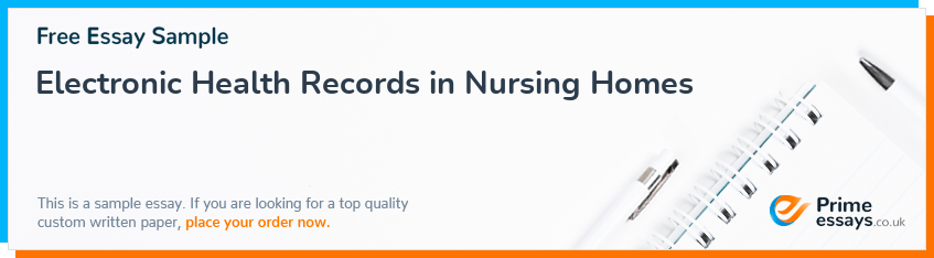 Electronic Health Records in Nursing Homes