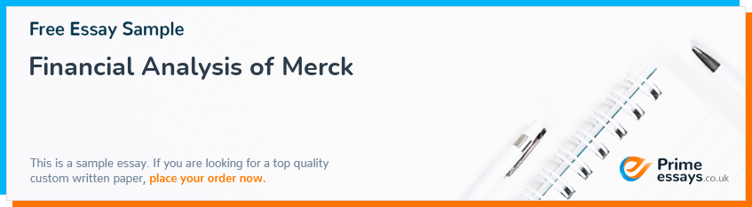 Financial Analysis of Merck