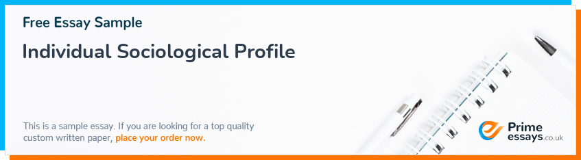 Individual Sociological Profile