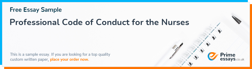 Professional Code of Conduct for the Nurses