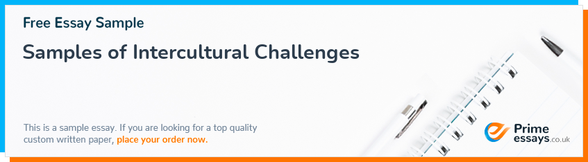 Samples of Intercultural Challenges