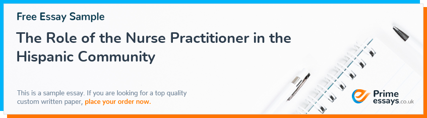 The Role of the Nurse Practitioner in the Hispanic Community